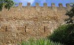 castillo de Capdepera de Mallorca, muralla