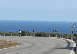 Radfahren auf Mallorca: Cala Pi - Cap Enderrocat
