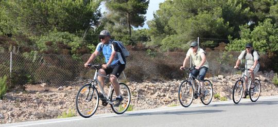 Radfahren auf Mallorca: Cala Pi (Llucmajor) - Cap Enderrocat