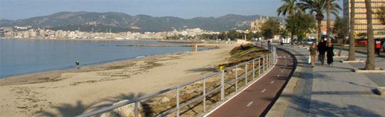 Fahrradtouren: Palma - Platja de Palma - Cap Blanc - S'Estanyol - Sa Rapita - Camí de Sa Sorda - Llucmajor - Camí de Sa Torre