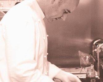 Gambas con queso mahonés