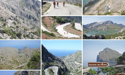Cycling in Mallorca: Sa Calobra