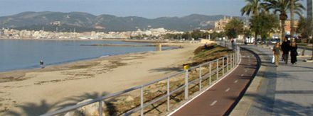 Cycling in Mallorca: Platja de Palma