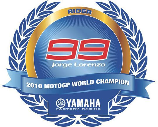 Jorge Lorenzo MotoGP world champion