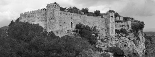 Das Schloss von Santueri