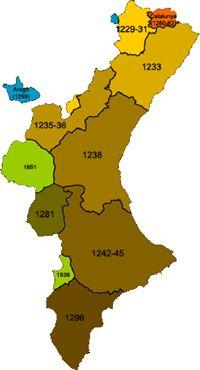 Jaume I - La conquesta de València  (V)