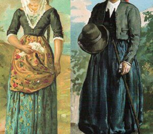 'Dress of the countryman',  typical dress of Mallorca