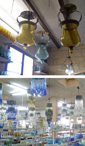 Mallorca-Lampen, Mallorca Mundgeblasenem Glas
