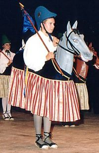 "The Mallorcan dances of the ""Cavallets"""