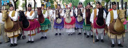 "The Mallorcan dances of the ""Cavallets"", Llucmajor"