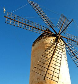 Windmills and watermills, Mallorca