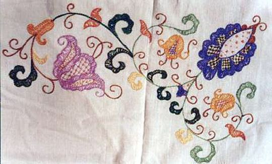 Mallorcan embroidery