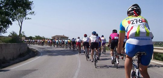 Ruta vuelta a 'Mallorca 312' km.