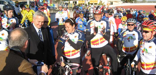 Más Mallorca Magazin, Offizieller Sponsor der Federation Radfahren auf den Balearen