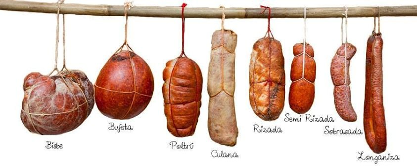 types of Majorcan sobrasada