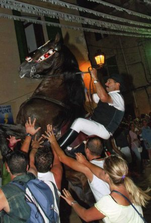 "Ses Salines Horse Festival. The Mallorcan ""Jaleo"""