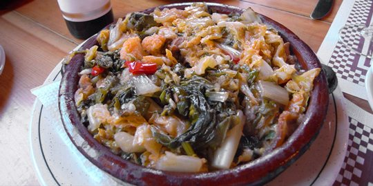 Mallorcan soups, typical Majorcan dish