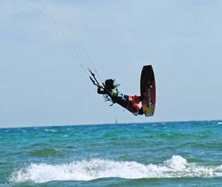 Flysurf/Kitesurf on the island of Mallorca