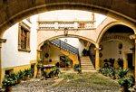 Mallorcas Innenhöfe der Herrenhäuser in Palma