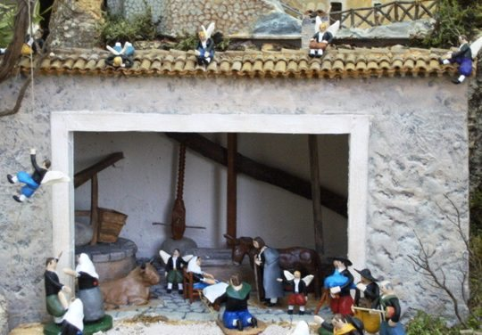 Antonia Tomás's Nativity Scene, a tradition in Mallorca
