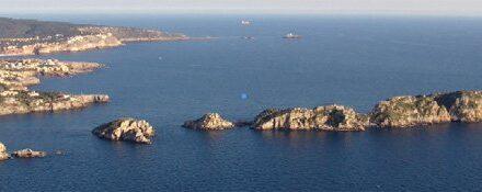 """Die Inseln  """"Las Malgrats"""""""
