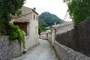 The town of Orient, Mallorca