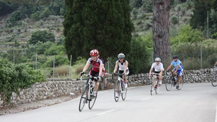 V Women's cyclotourism: Route of Alaró, Orient