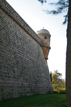 Die Bastione von Sant Pere und del Príncep, gewinnen die befestigte Stadt Palma zurück
