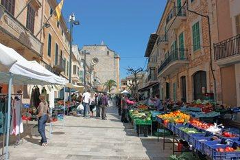 mercado de Santanyí, Mallorca
