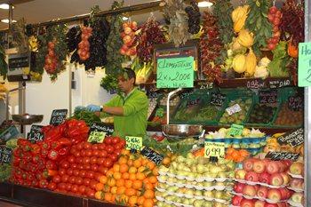 Olivar market, Palma, Mallorca