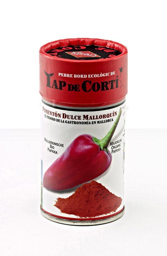 "Majorcan organic paprika ""tap de cortí"""