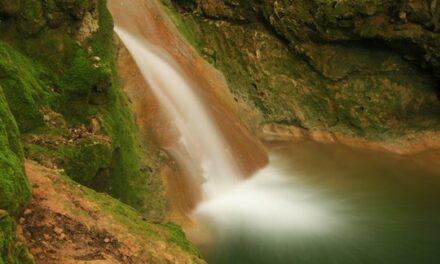 Salt des Freu – натуральный водный каскад в Ориенте (Orient, Майорка)