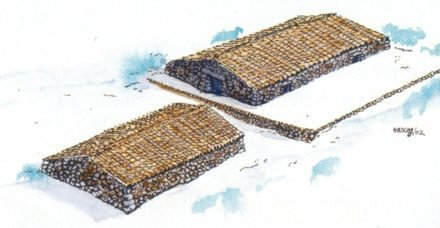 """Snow Houses"" before Mallorca had fridges"