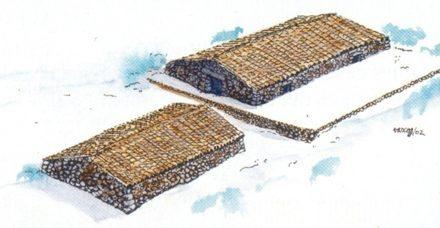 """""""Casas de nieve"""" cuando las neveras no existían"""