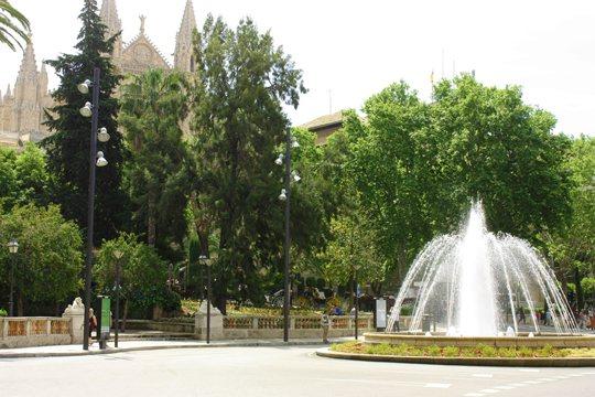 Пальмы де Майорка: La Plaza de la Reina (Площадь Королевы)