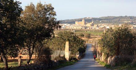 Ruta monestir de Monti-sion, Porreres Mallorca