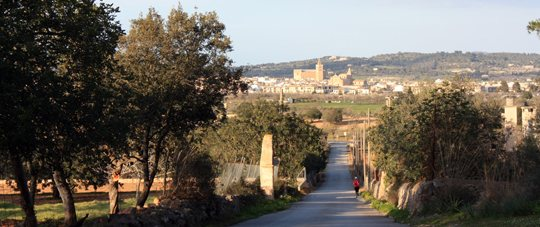 Cycle-tourism, Montisión Monastery Route, Porreres Mallorca