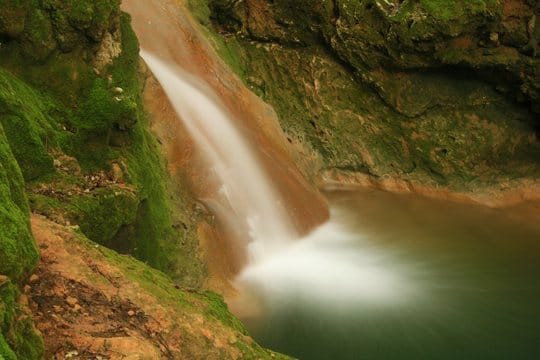 Es Salt des Freu, una cascada natural en Orient