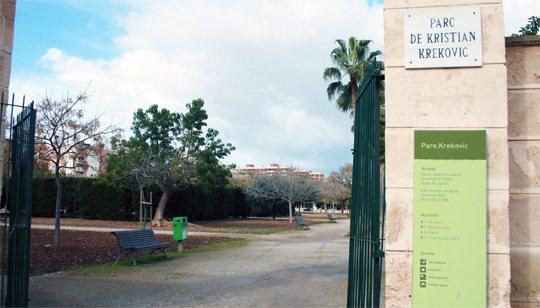 Parque Krekovic, Palma