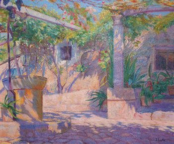 La-pintura-en-mallorca-Joan-Fuster-Bonin-Jardi-mallorqui
