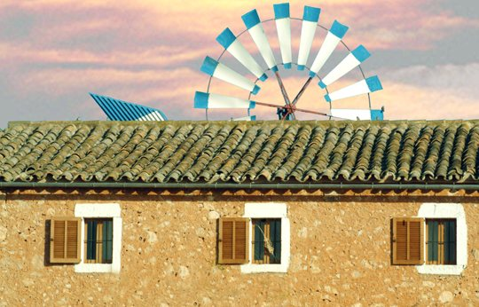 Mallorca y sus molinos harineros de viento