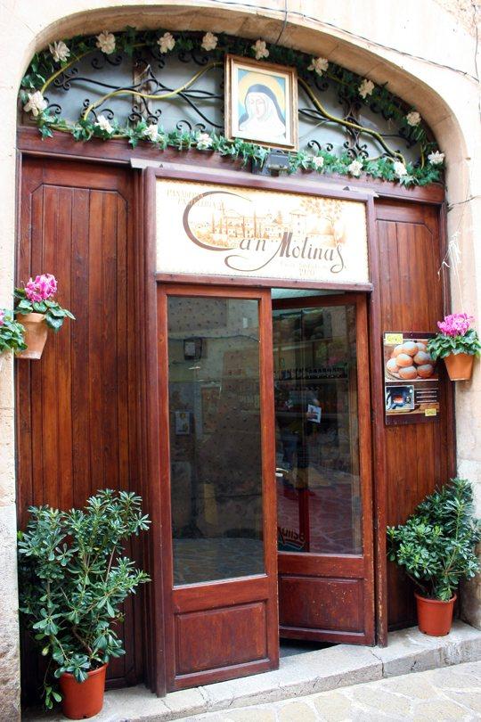 Valldemossa, Mallorca. Panadería, coca patata
