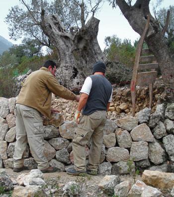 Piedra seca, técnica constructiva declarada patrimonio de la Humanidad
