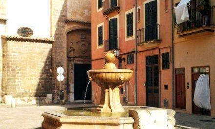 La plaza de Sant Jeroni aúna el pasado cultural de Mallorca
