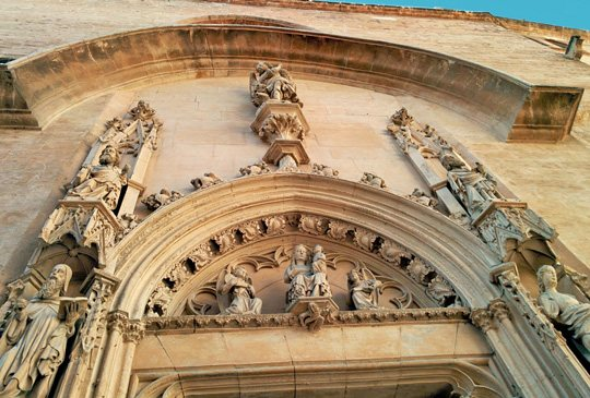 Las cuatro primeras Iglesias de Palma de Mallorca