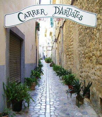 The Town of Sóller, Mallorca