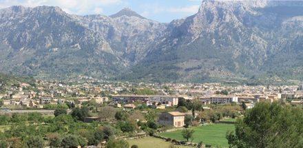 El pueblo de Sóller (Mallorca)