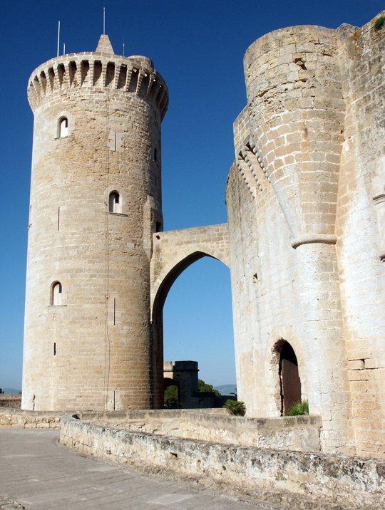 torre del Castell de Bellver, Mallorca