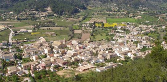 S'Arracó, not always a peaceful valley (Andratx)