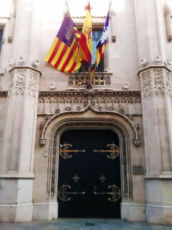 Ajuntament de Palma i Consell Insular. Plaza de Cort
